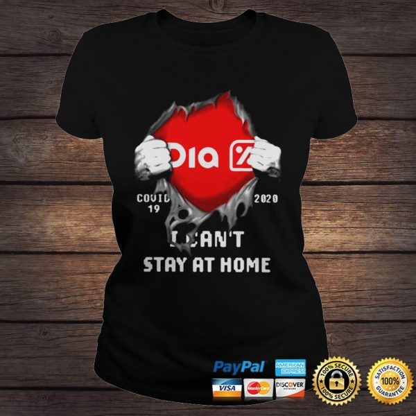 Dia Inside Me Covid19 2020 I Cant Stay At Home Shirt Classic Ladies Tee