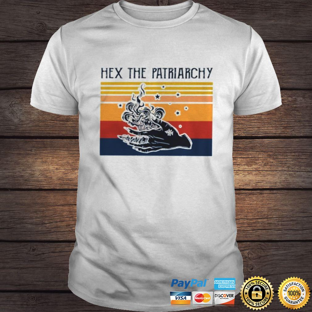 Vintage Hex the patriarchy shirt Shirt