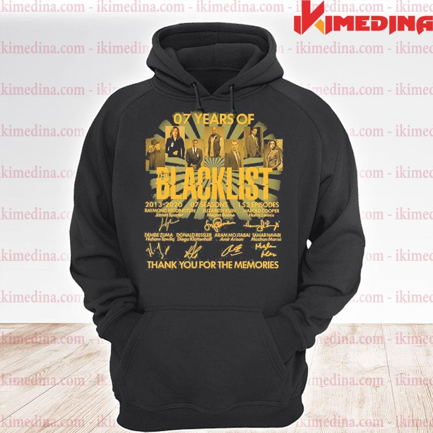 07 years of blacklist than you for the memories s premium hoodie