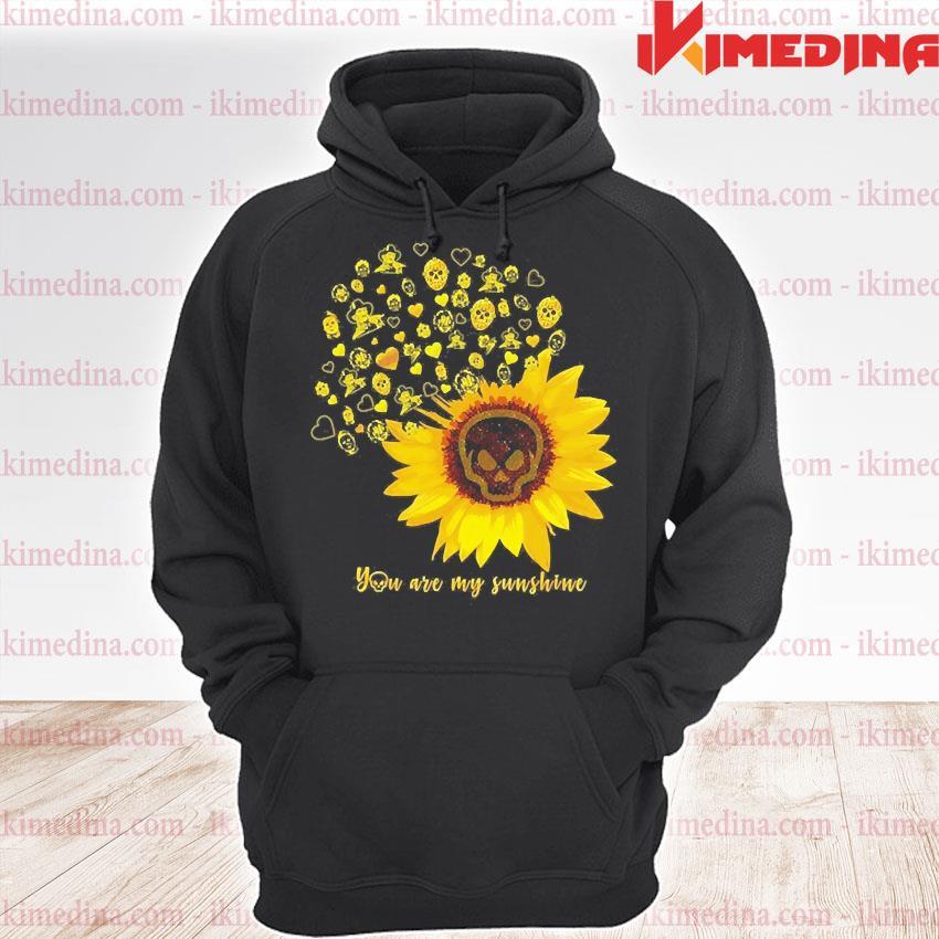 Horror Character Sunflower you are my sunshine s premium hoodie