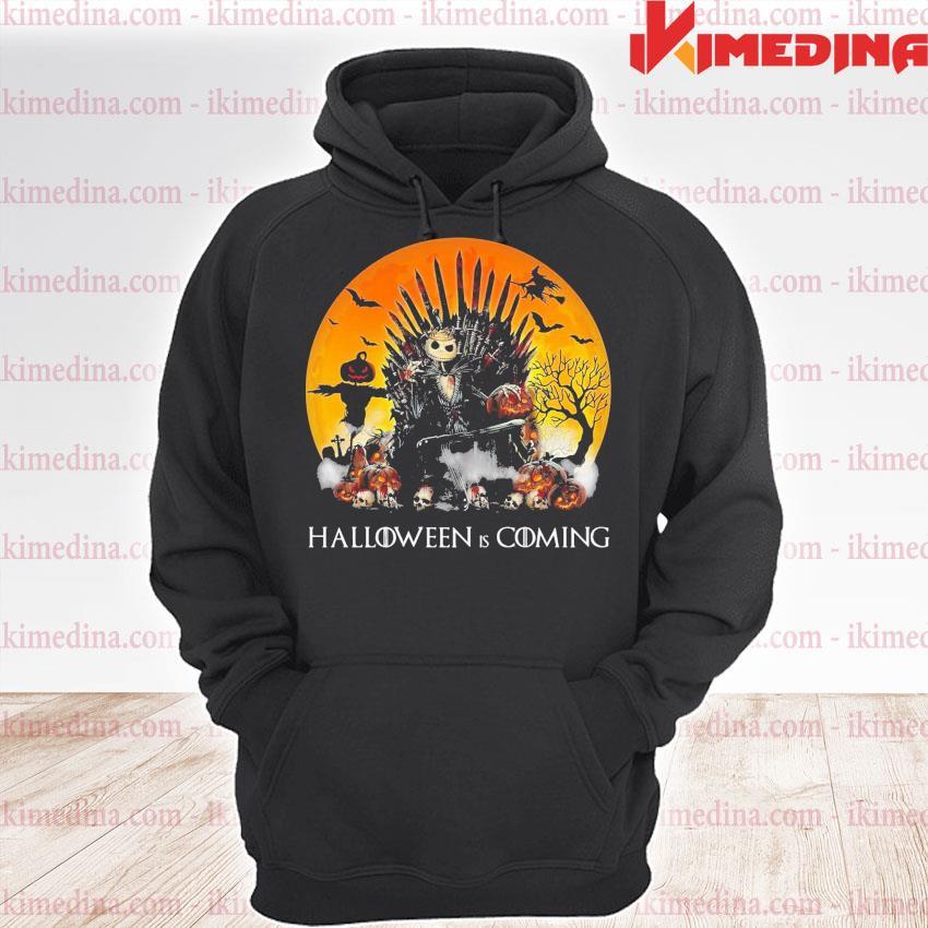 Jack Skellington Halloween Is Coming s premium hoodie