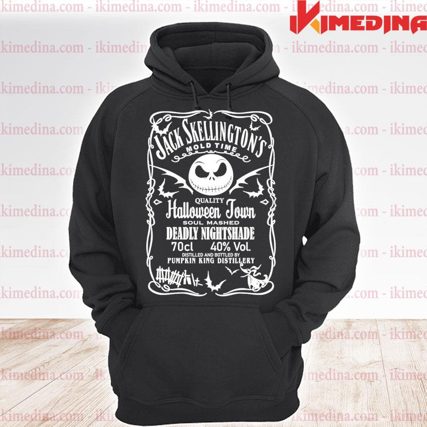 Jack Skellington mold time quality Halloween Town soul mashed Deadly Nightshade s premium hoodie