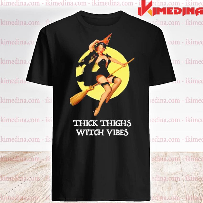 Thick thighs With vines Halloween shirt