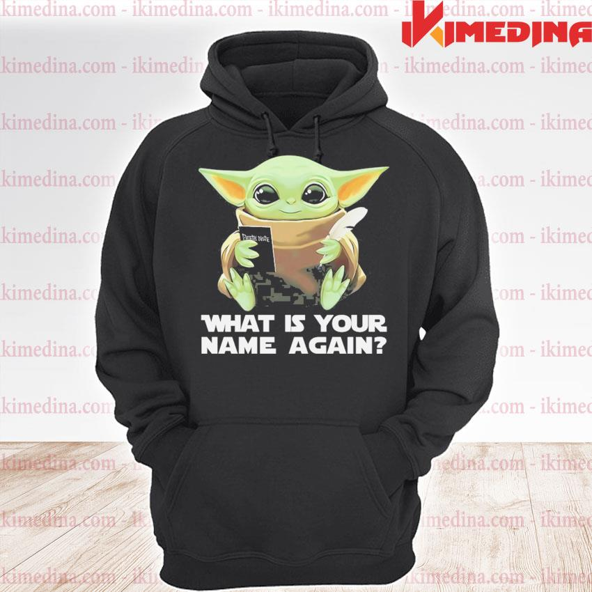 Baby Yoda what Is your name again s premium hoodie