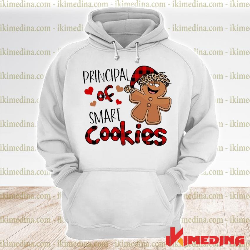 Plaid Principal Of smart Cookies s premium hoodie