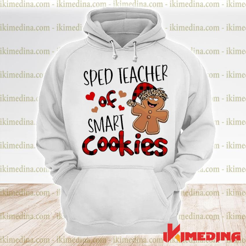 Plaid Sped Teacher of smart Cookies s premium hoodie