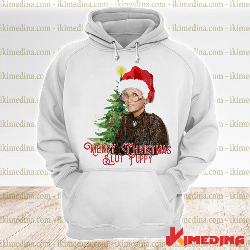 Slut Puppy Merry Christmas 2020 s premium hoodie