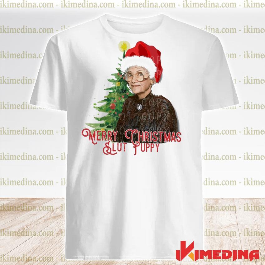 Slut Puppy Merry Christmas 2020 shirt
