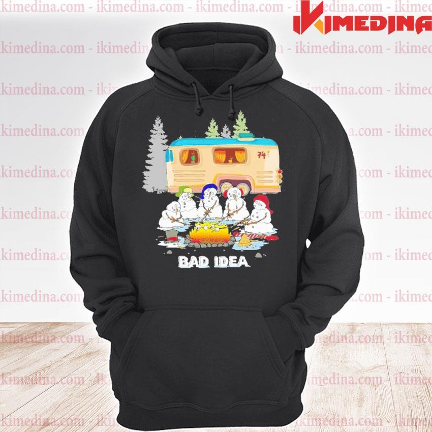 Snowman bad Idea happy Christmas 2020 s premium hoodie
