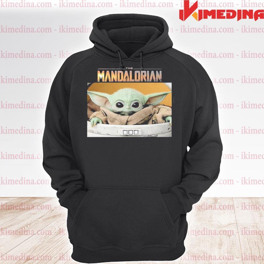 Star wars the mandalorian the child the baby yoda s premium hoodie