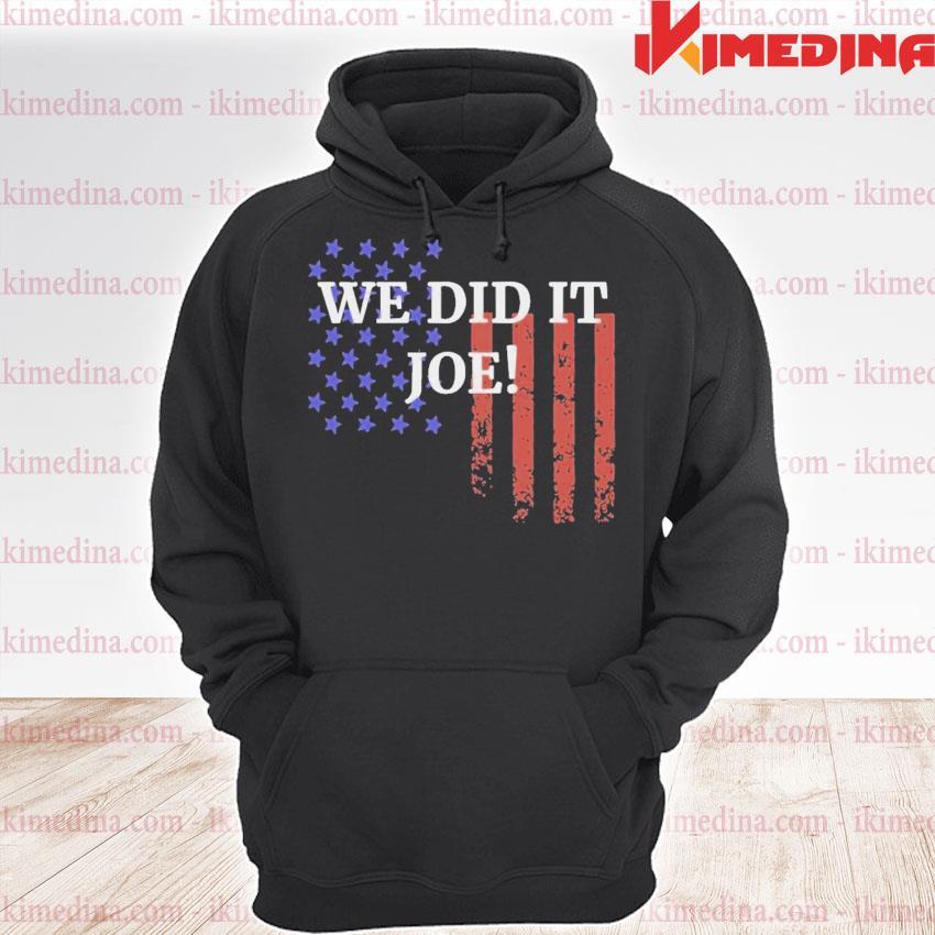 We did it joe american flag election s premium hoodie