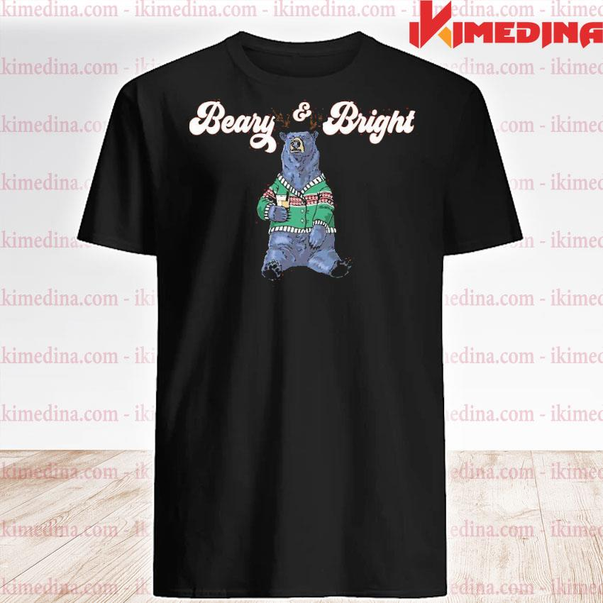 Official beary and bright merry christmas sweatshirt