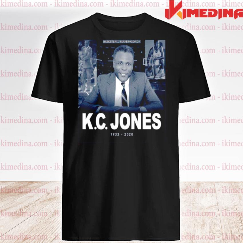 Official bill russell kc jones 1932 2020 shirt