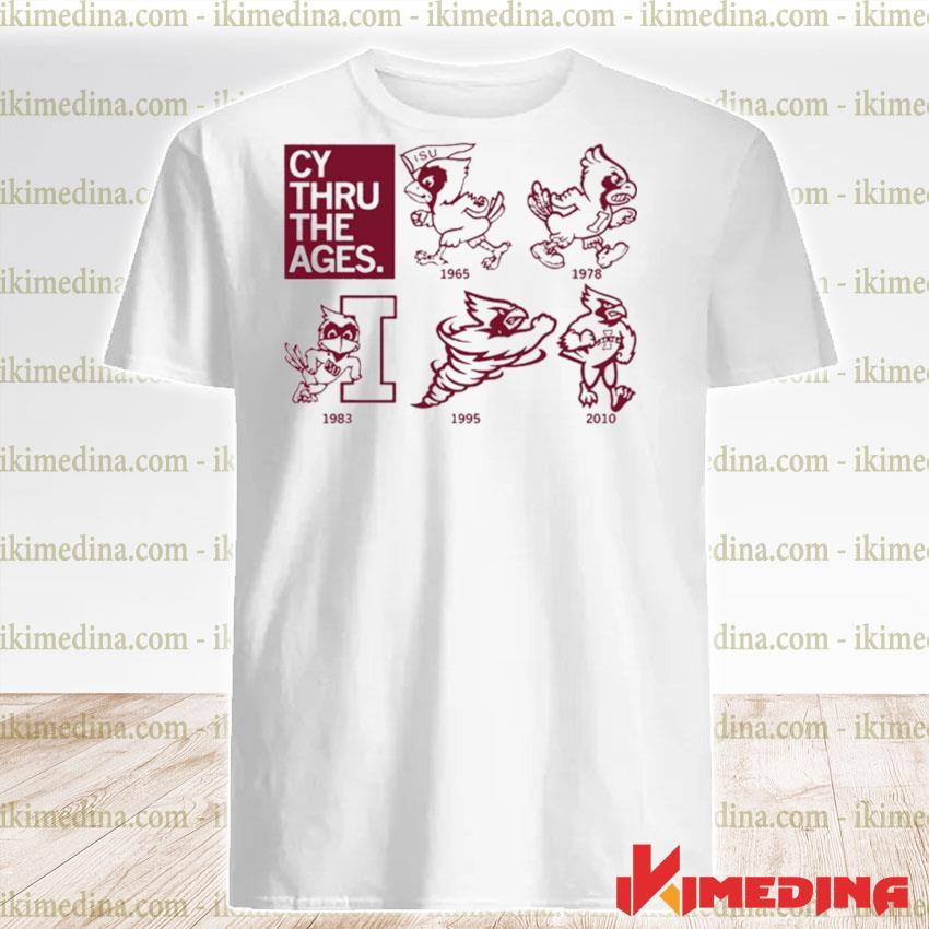 Official isu cy thru the ages shirt