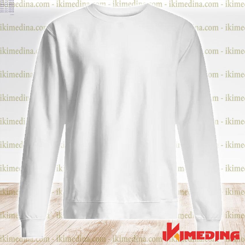 Official jennifer garner peace love virtue s premium sweater