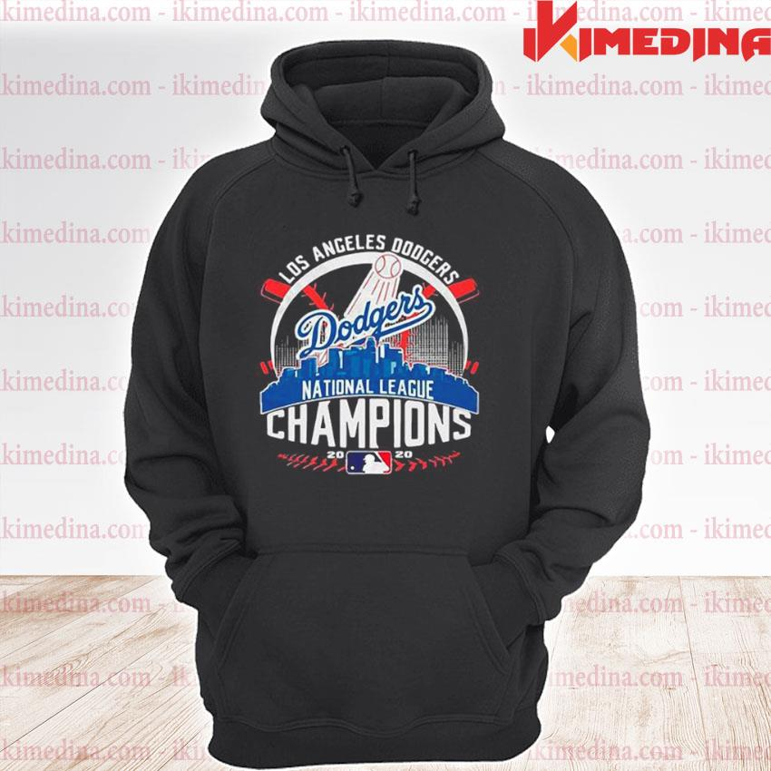Official los angeles dodgers dodgers national league champions 2020 s premium hoodie
