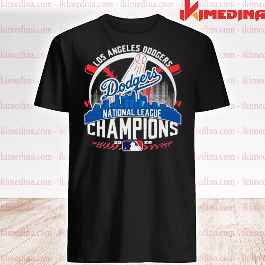 Official los angeles dodgers dodgers national league champions 2020 shirt