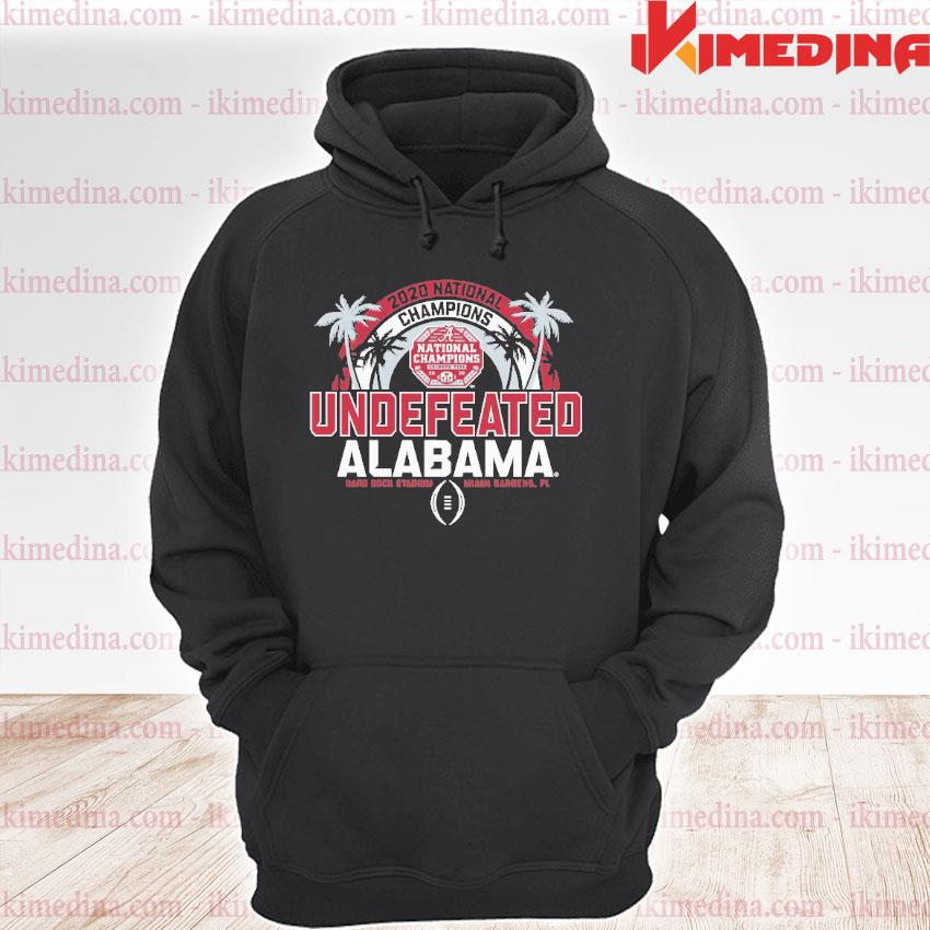 Official 2020 national champions undefeated alabama 2021 s premium hoodie