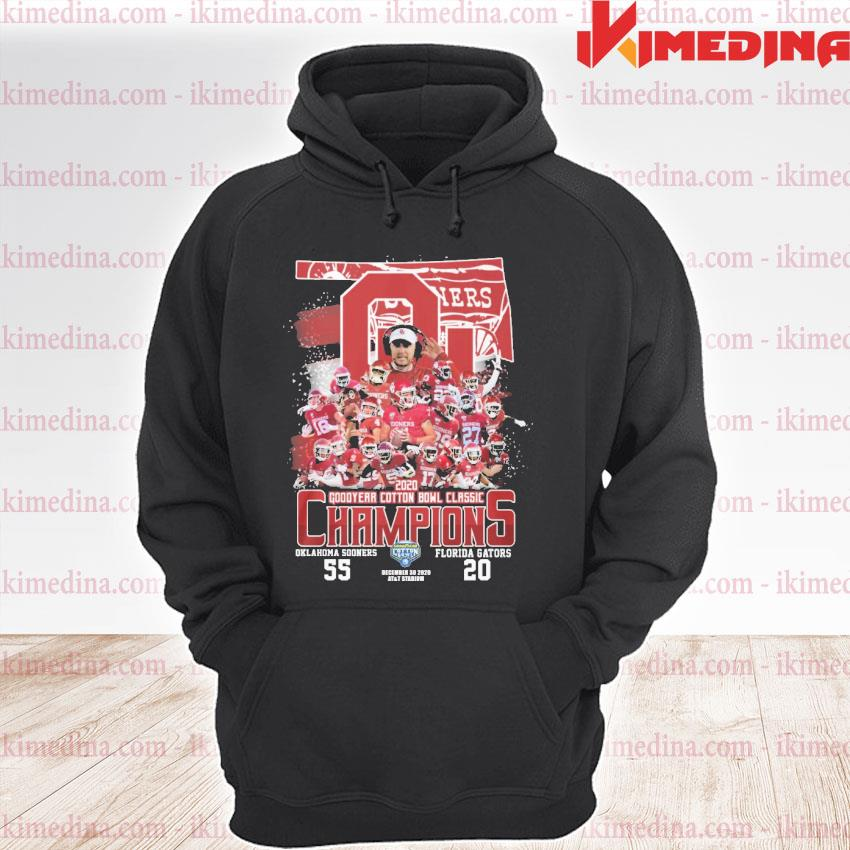 Official 2020 oklahoma sooners goodyear cotton bowl classic champions s premium hoodie