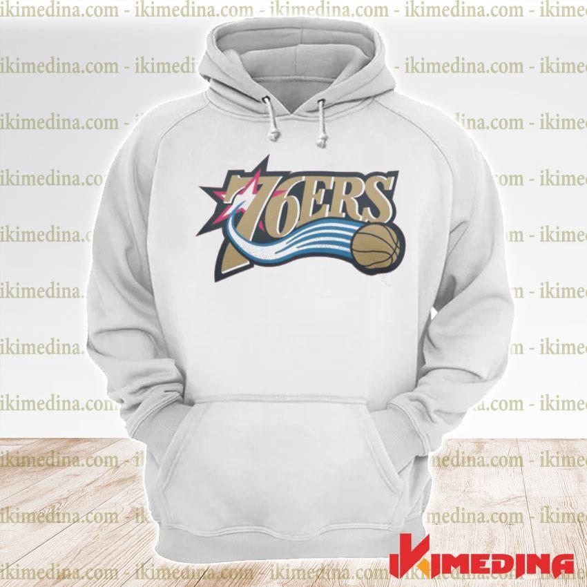 Official 76ers logo s premium hoodie