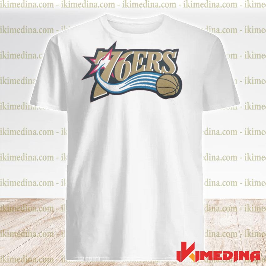 Official 76ers logo shirt