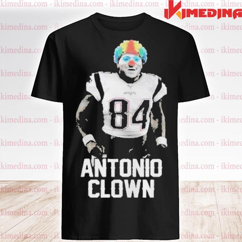 Official 84 patriots antonio brown clown shirt