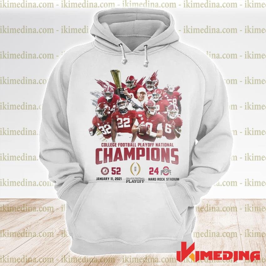 Official alabama crimson college football playoff national champions 2021 s premium hoodie