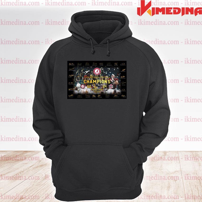 Official alabama crimson tide 2020 national football champions hard rock stadium 01 11 2021 s premium hoodie