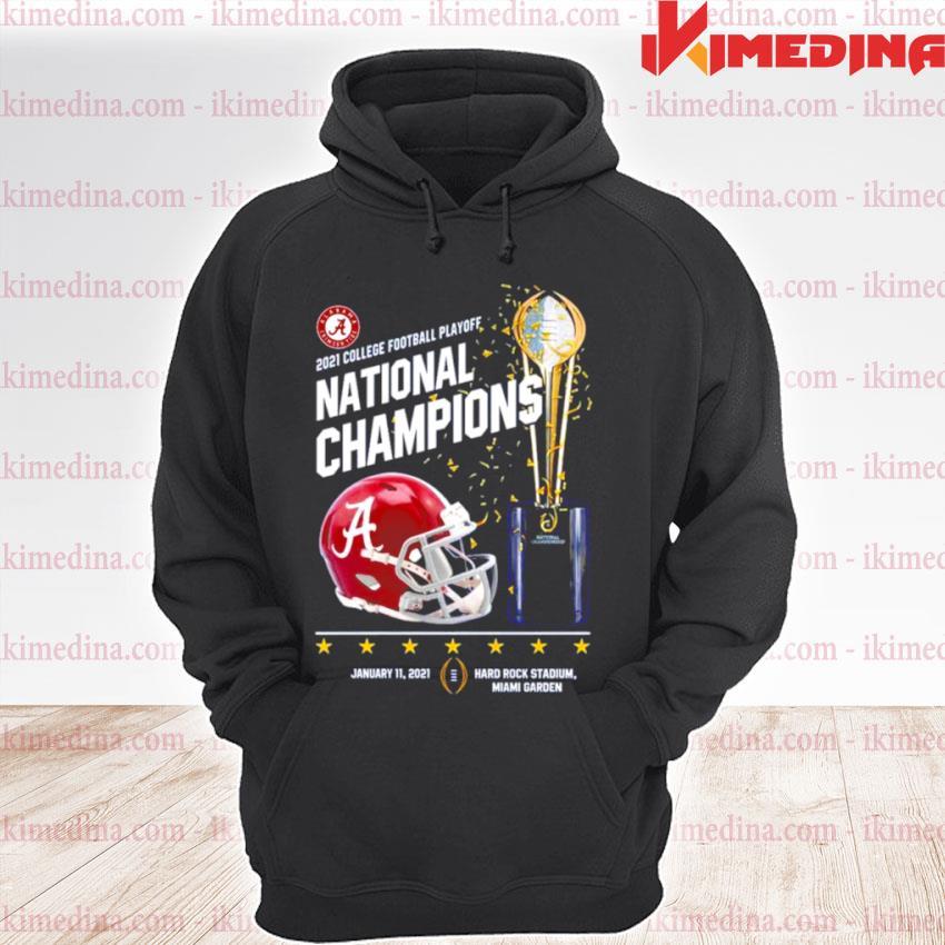 Official alabama crimson tide 2021 college football playoff national champions alabama 52 ohio state 24 s premium hoodie
