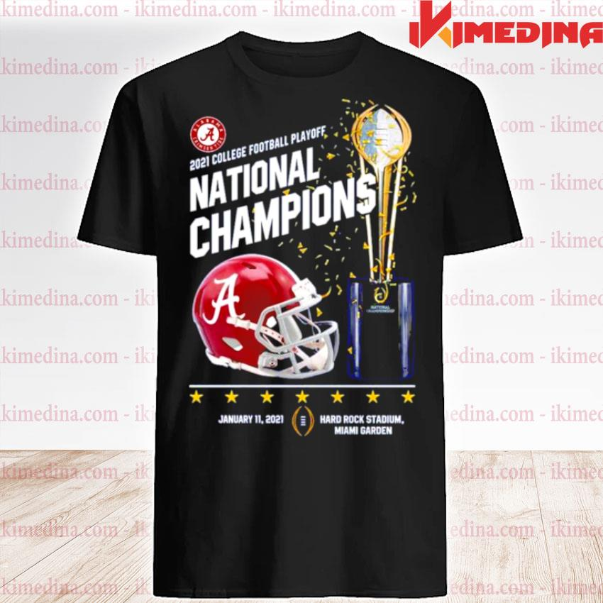 Official alabama crimson tide 2021 college football playoff national champions alabama 52 ohio state 24 shirt