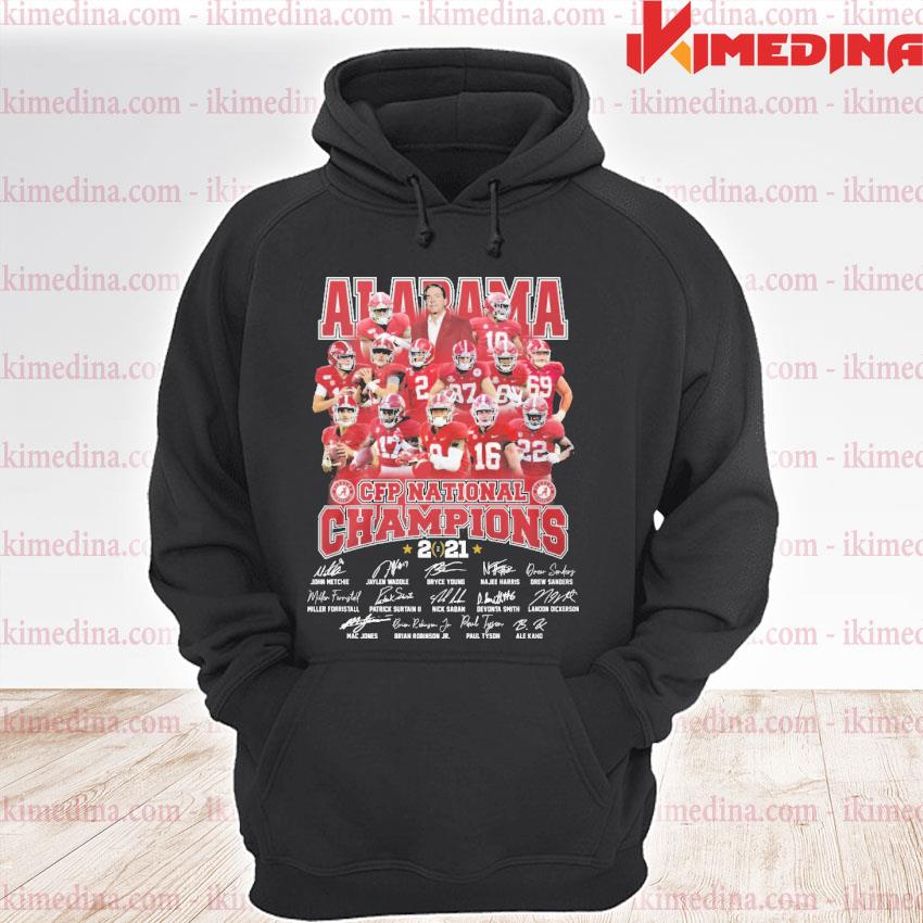 Official alabama crimson tide cfp national champions 2021 s premium hoodie