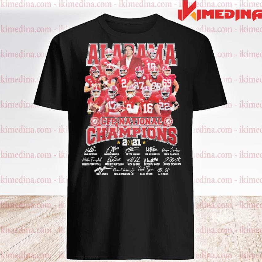 Official alabama crimson tide cfp national champions 2021 shirt