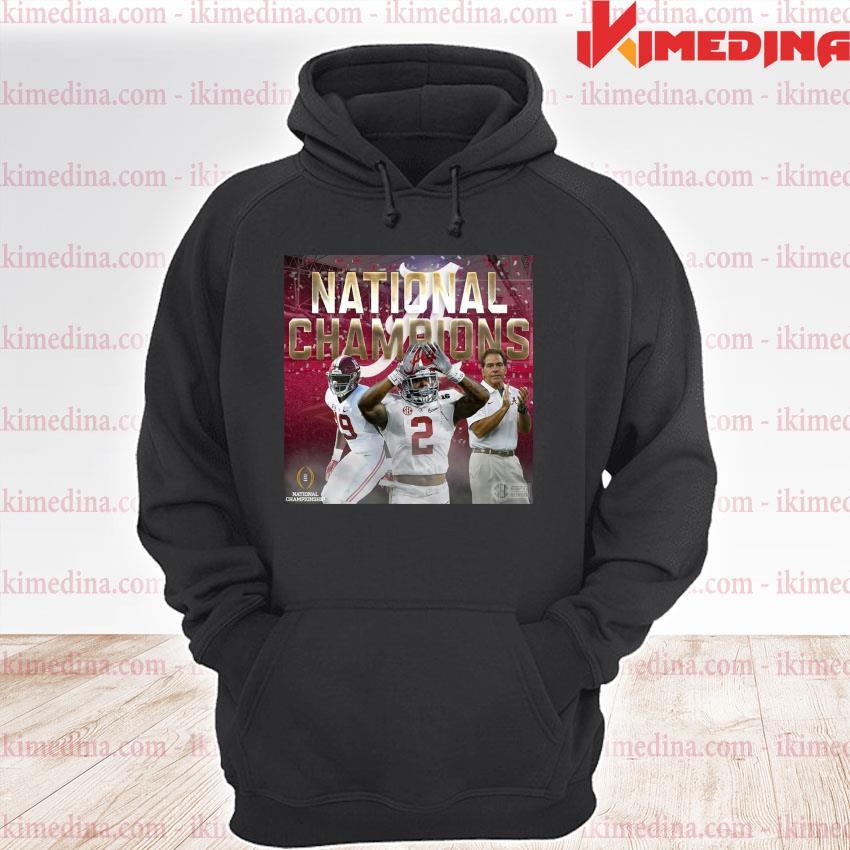 Official alabama crimson tide national champion 2020 s premium hoodie