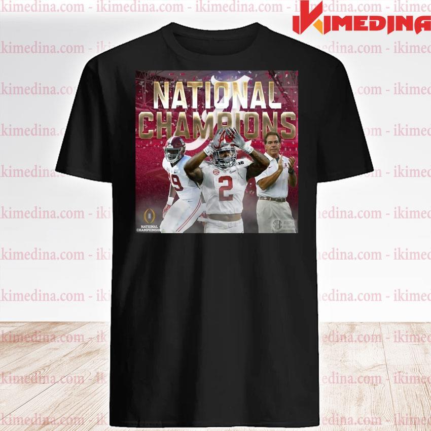 Official alabama crimson tide national champion 2020 shirt
