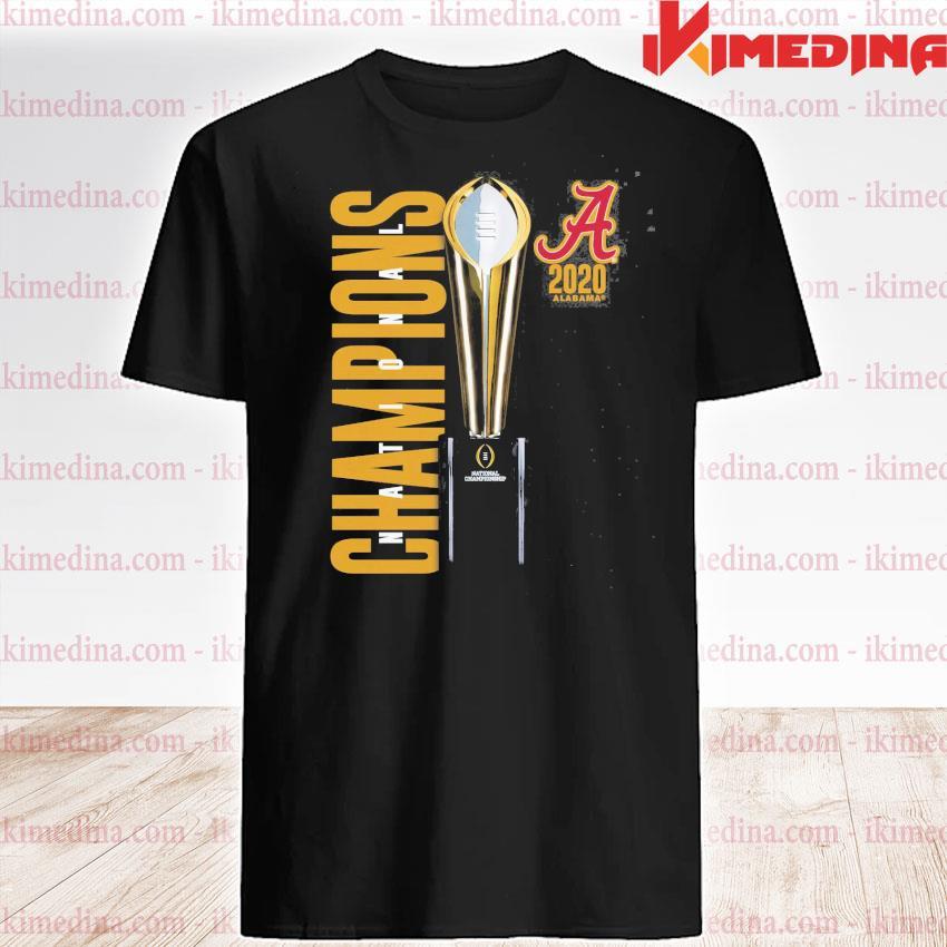 Official alabama crimson tide national champions 2020 2021 shirt