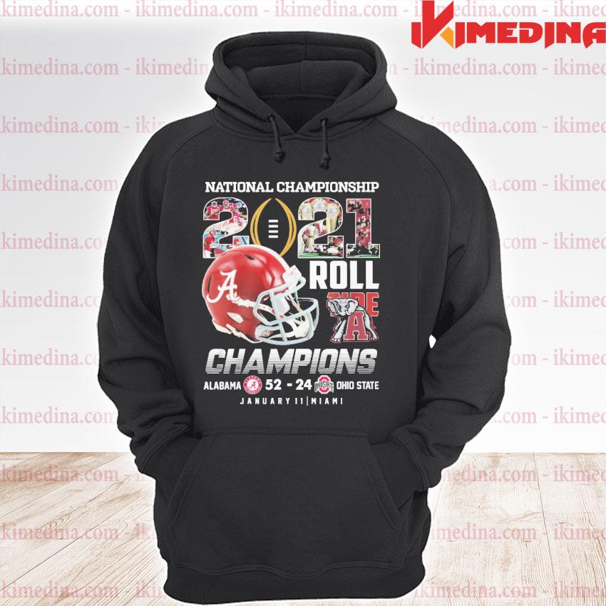 Official alabama crimson tide national championship 2021 roll s premium hoodie