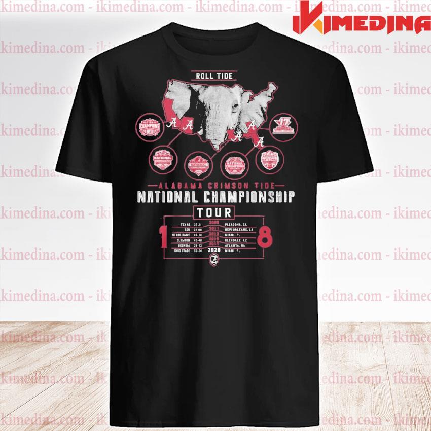 Official alabama crimson tide national championship 2021 shirt