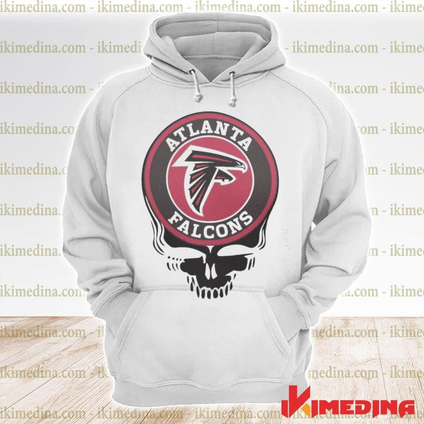 Official atlanta falcons football skull s premium hoodie