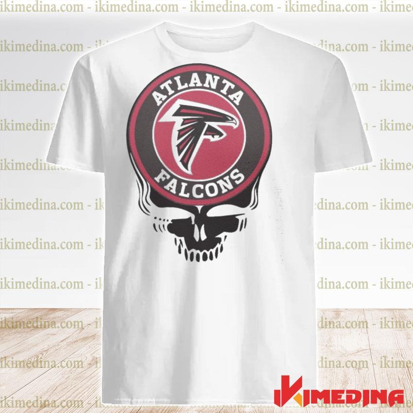 Official atlanta falcons football skull shirt
