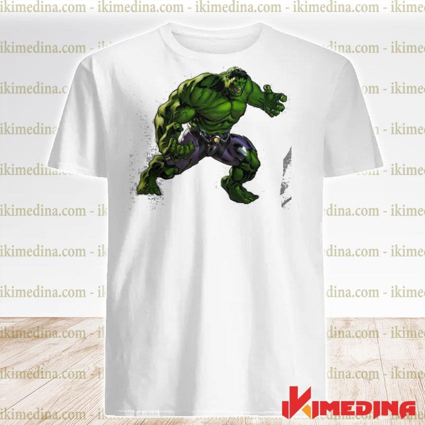 Official avengers alliance 2 hulk shirt