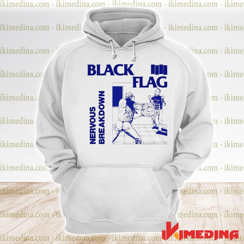 Official back nervous breakdown flag s premium hoodie