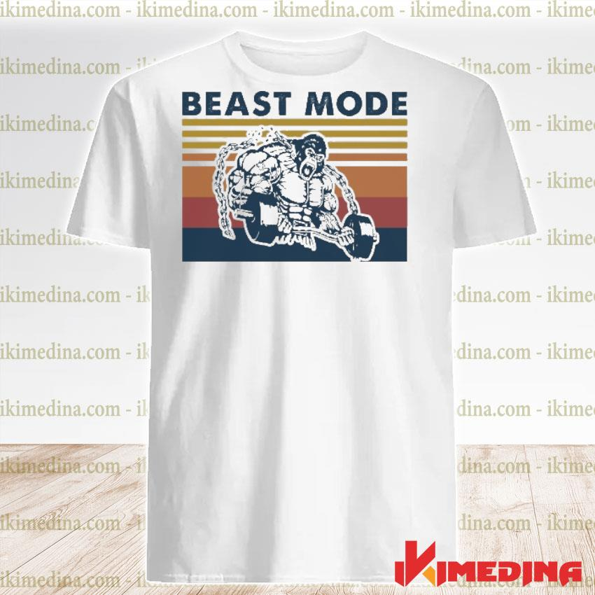 Official beast mode bigfoot vintage shirt