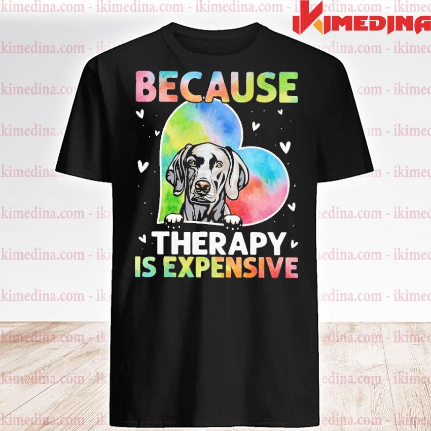 Official because therapy is expensive heart shirt