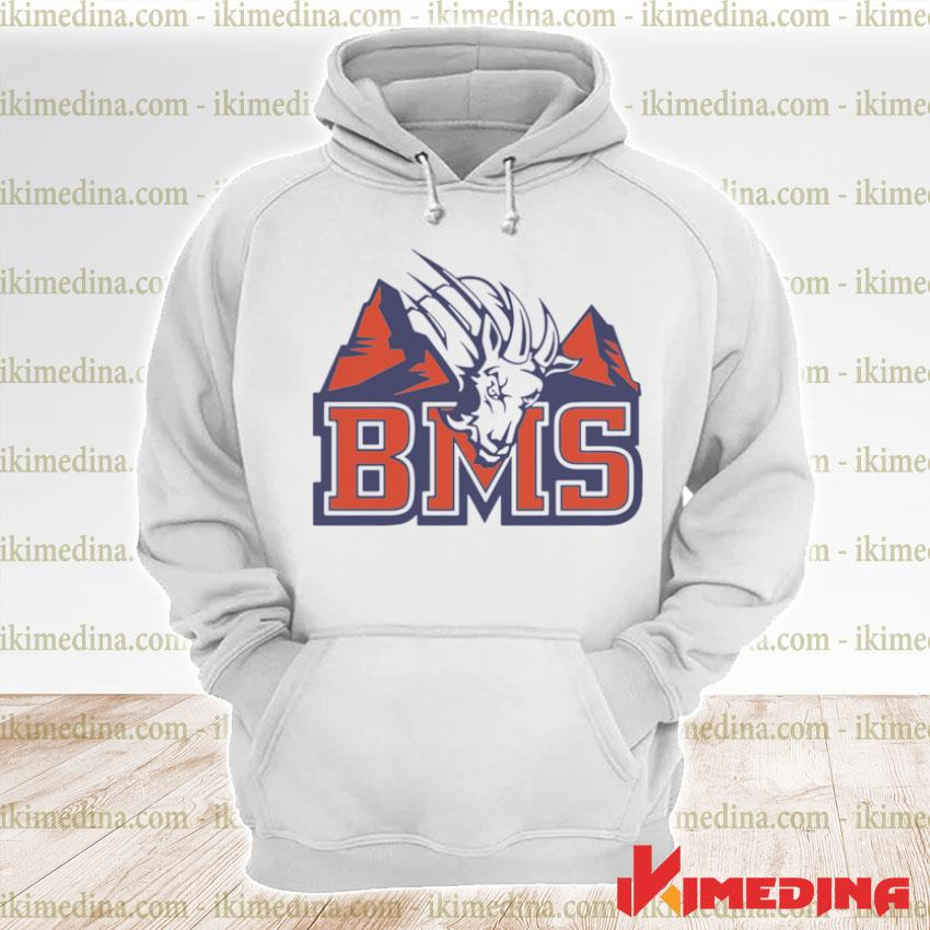 Official blue mountain state logo s premium hoodie