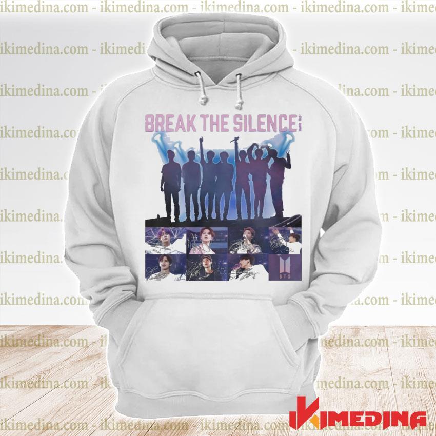 Official bts break the silence signatures s premium hoodie