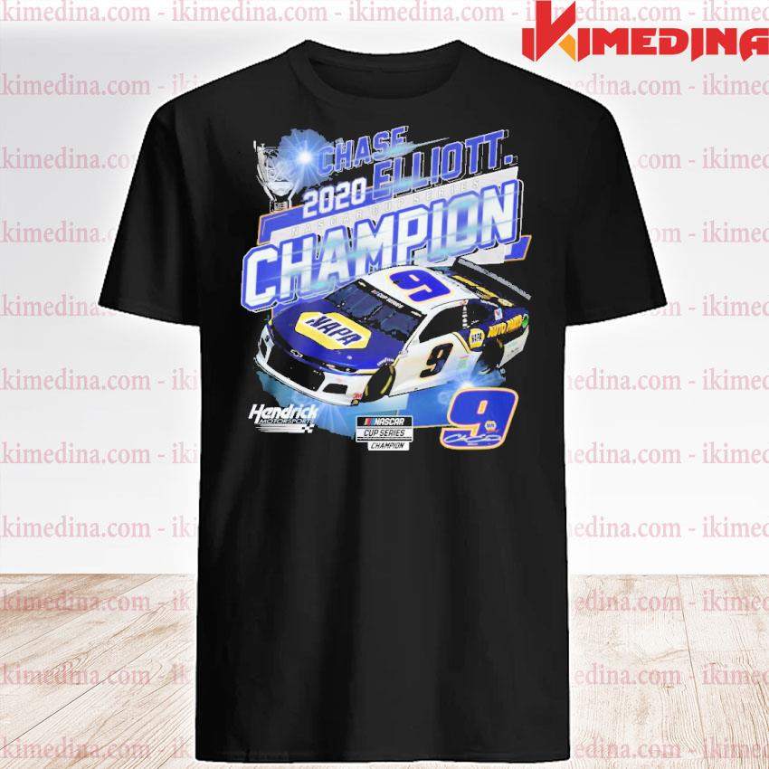 Official chase elliott 2020 nascar cup series championship shirt