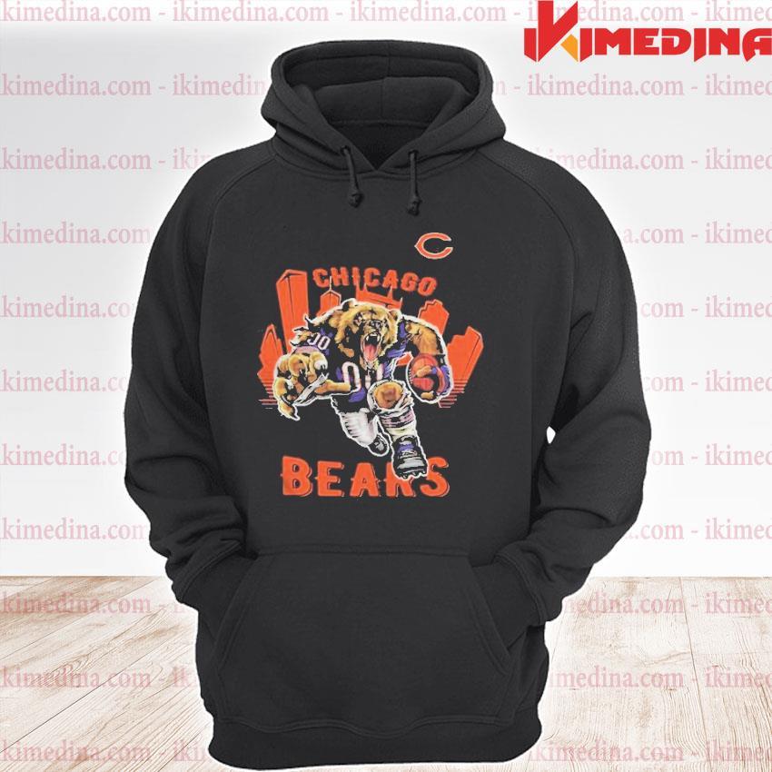 Official chicago bears anniversary s premium hoodie