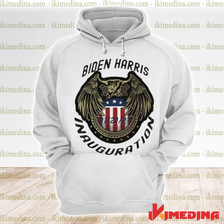Official commemorative joe biden & kamala harris inauguration day 01-20-2021 s premium hoodie