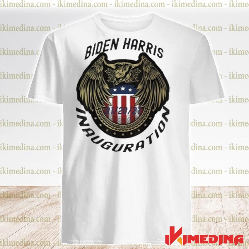 Official commemorative joe biden & kamala harris inauguration day 01-20-2021 shirt
