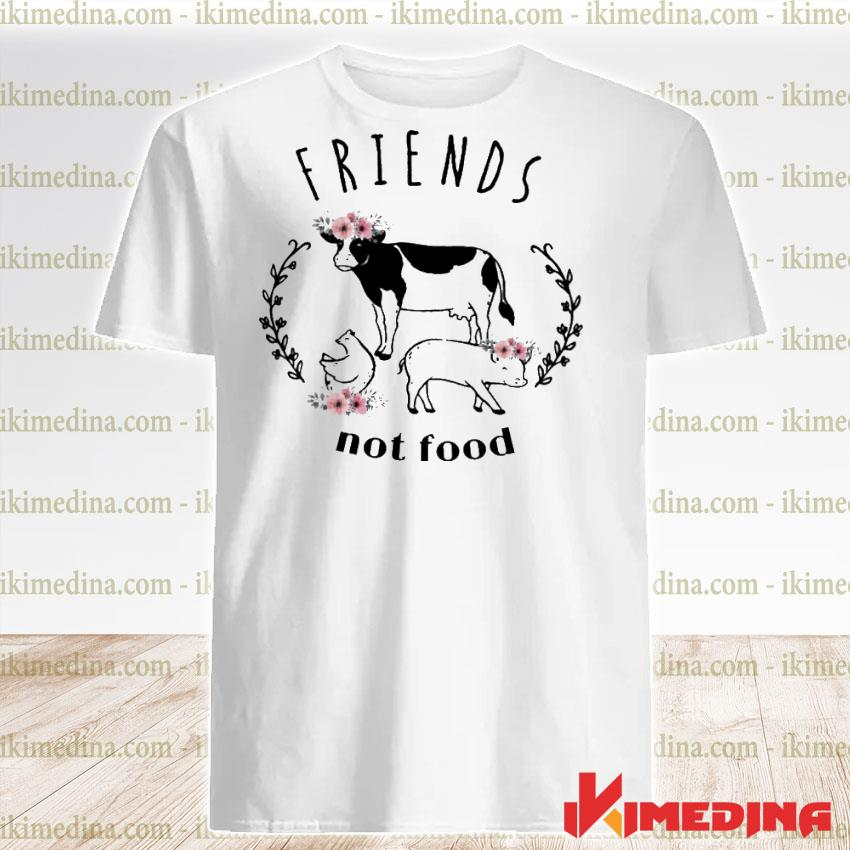 Official cow friends not food shirt